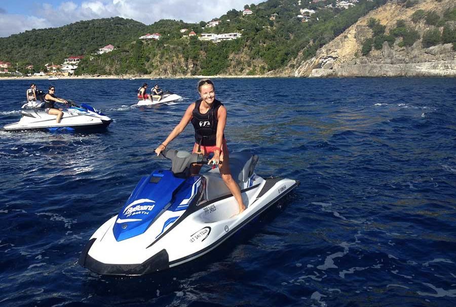scooter des mers St Barth