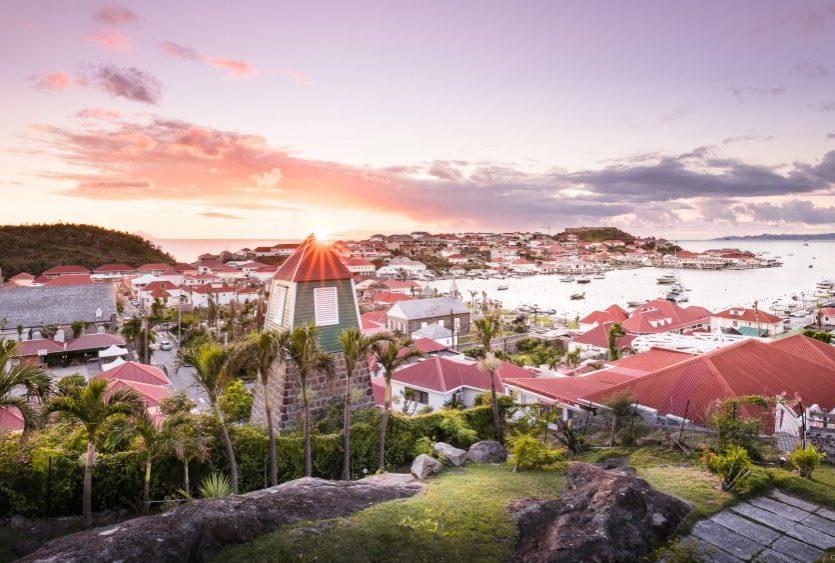 St Barts sunset Gustavia