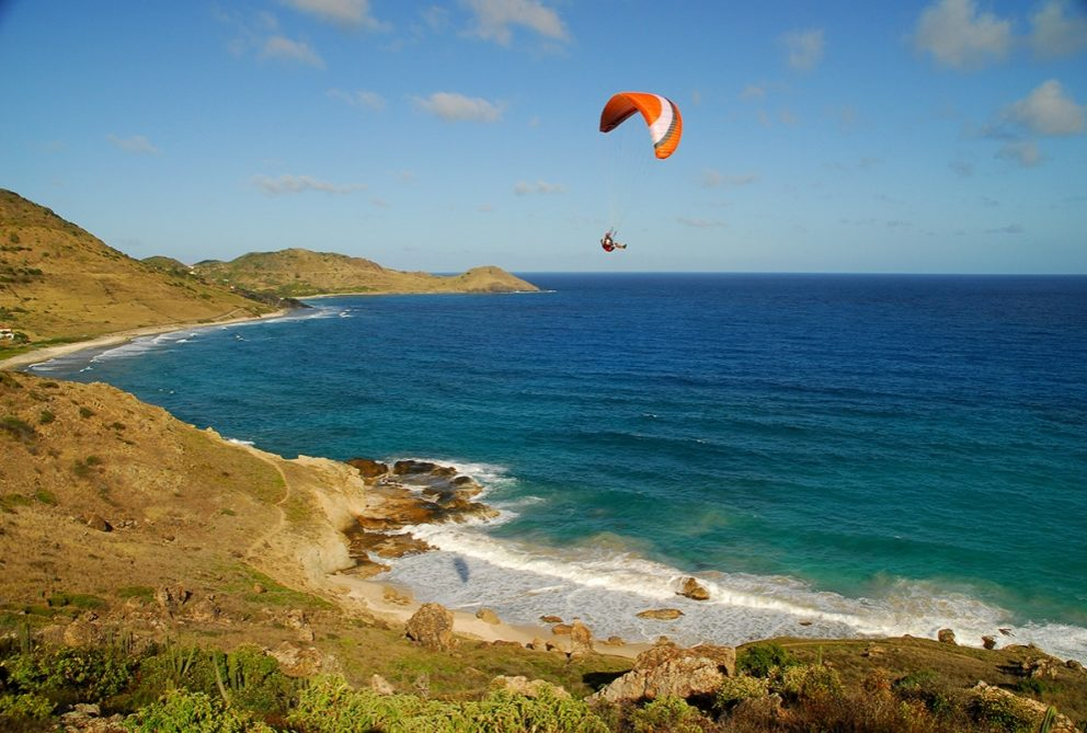 Kite surf à St Barth