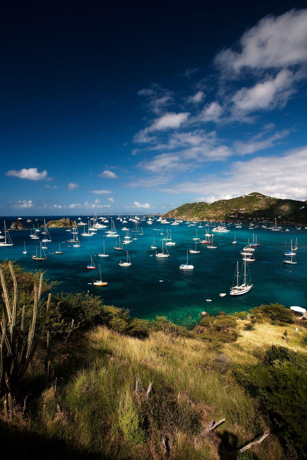 St Barts a clean green island