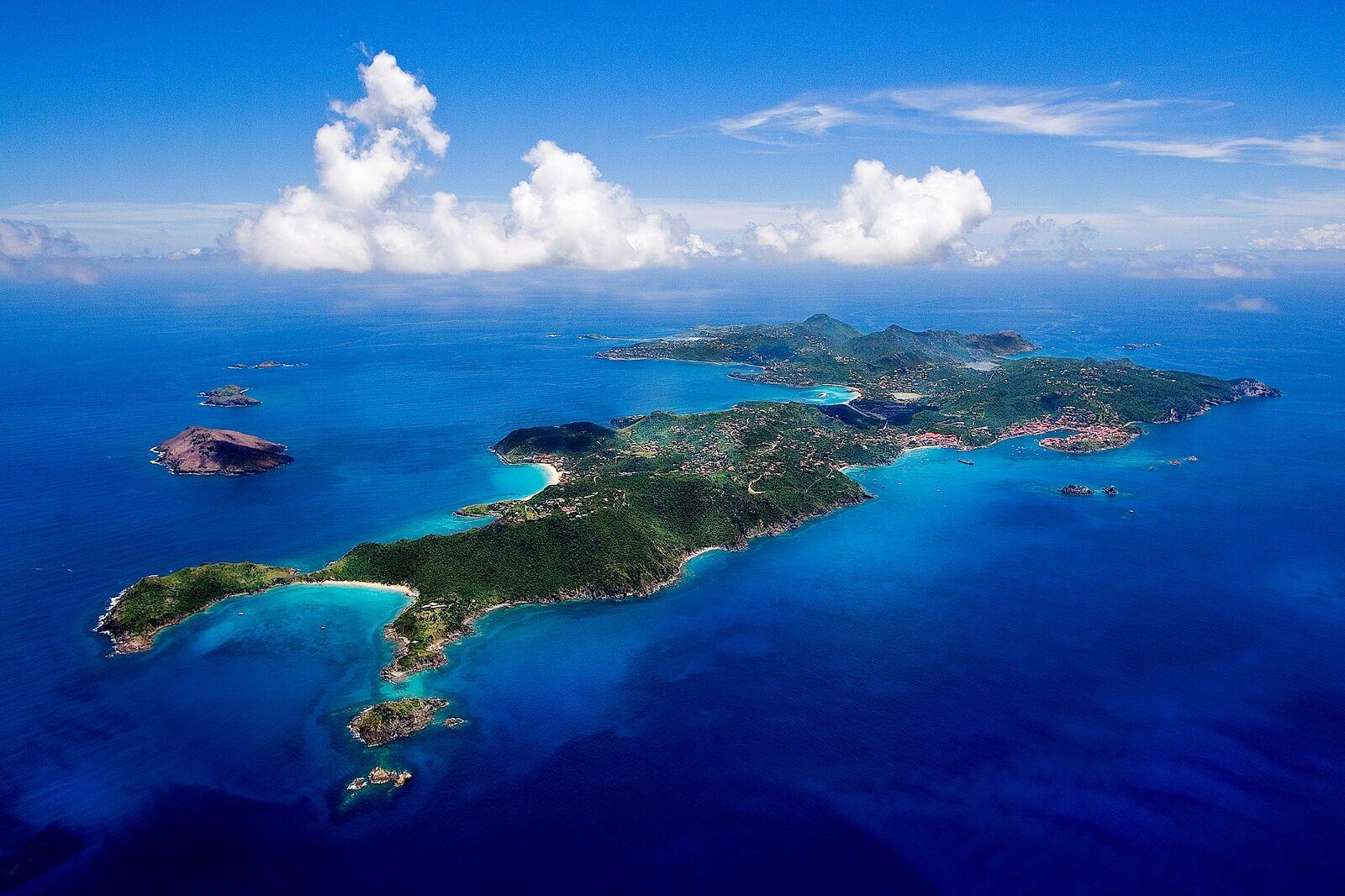 St Barth est une île paradisiaque