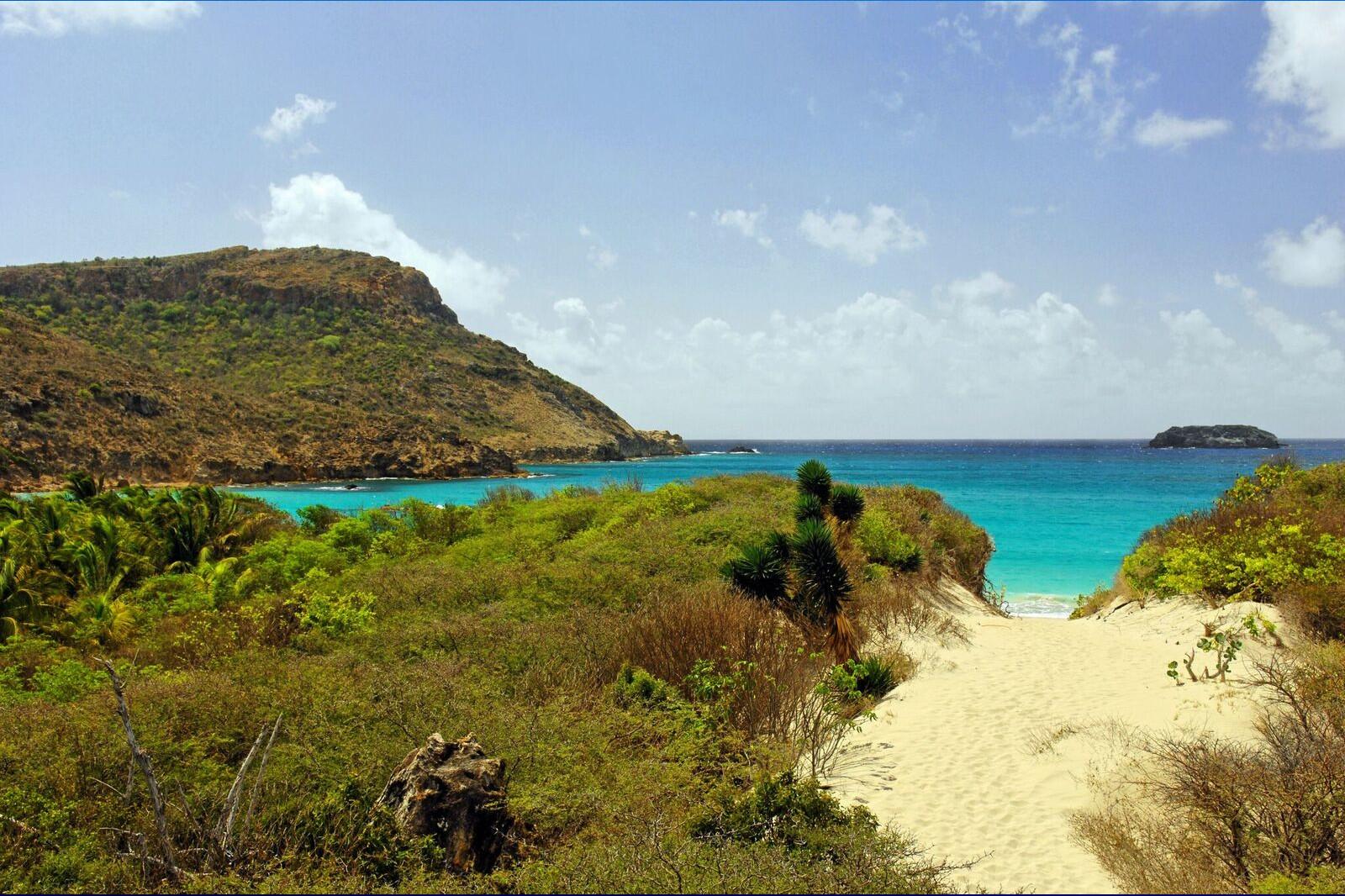 wild beaches in Saint Barts