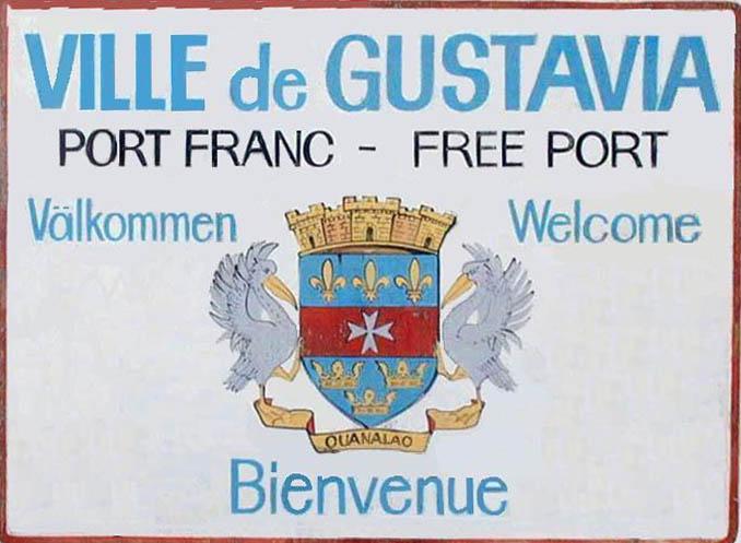 Bienvenue à Gustavia St barthélemy
