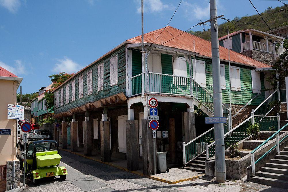 vieille maison traditionnelle à Saint Barthélemy
