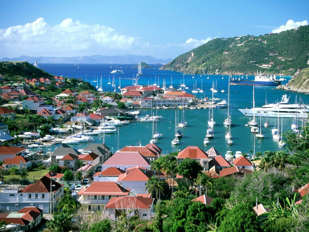 Port of Gustavia St Barts