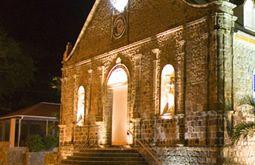 églises de nuit à Saint Barthélemy
