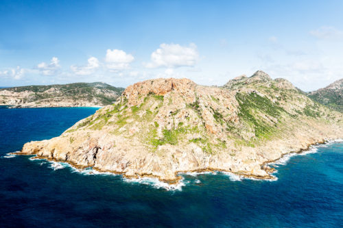 Mountains in Saint Barts