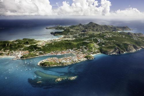 Wild island of Saint Barts